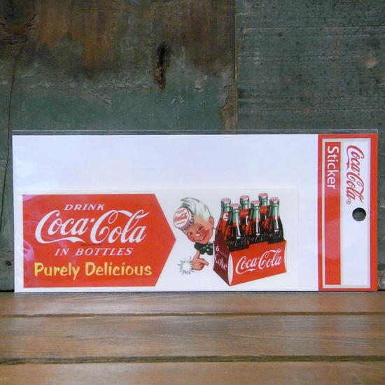 コカコーラ ステッカー COCACOLA DRINK STICKERS ステッカー シール アメリカン雑貨の画像