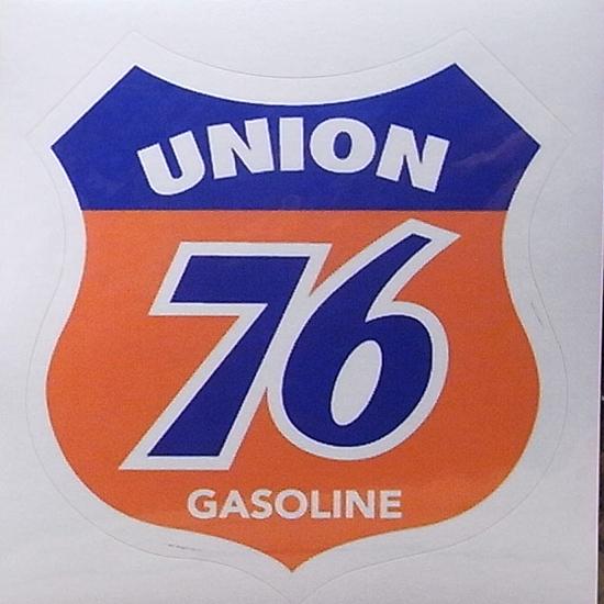 ユニオン76 オイルメーカーステッカーシール アメリカン雑貨の画像