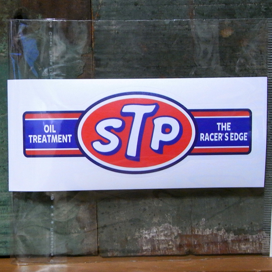 STP ステッカーシール モーター系ステッカー アメリカン雑貨の画像
