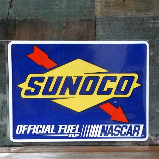 SUNOCO ステッカー スノコオイル シール アメリカン雑貨の画像