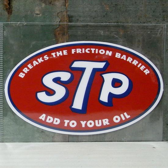 STP ステッカー シール アメリカン雑貨の画像