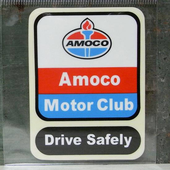 アモコ レーシング ステッカー シール アメリカン雑貨の画像