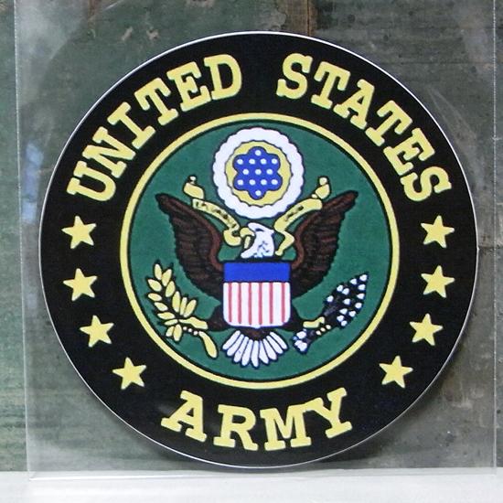 ARMY ミリタリー ステッカー シール アメリカン雑貨の画像