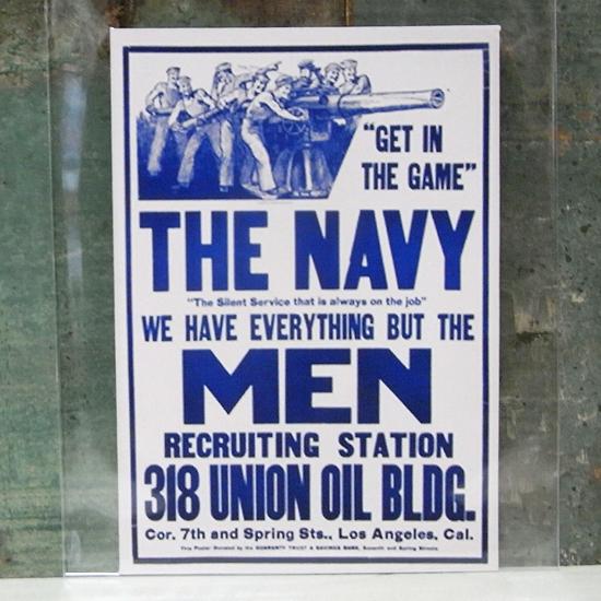 THE NAVY MEN ミリタリー ステッカー シール アメリカン雑貨画像