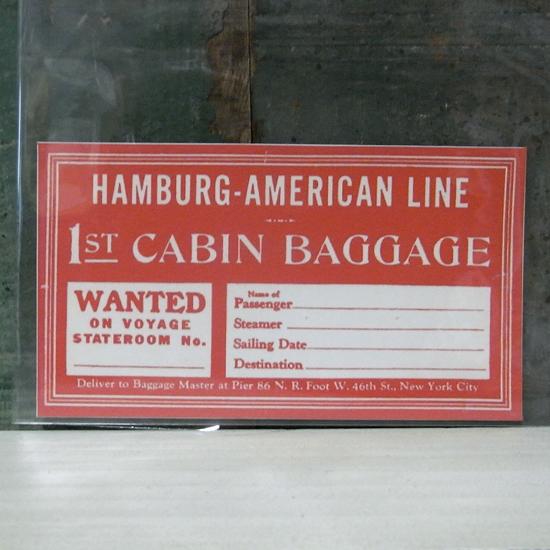 HAMBURG トラベル ステッカー ウォールステッカー アメリカン雑貨の画像