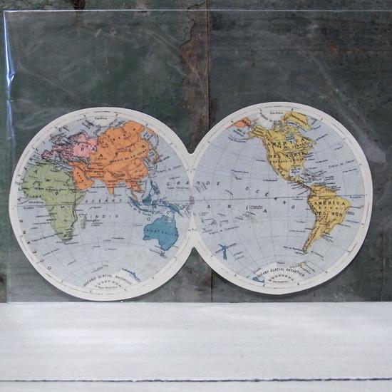TWIN GLOBE トラベル ステッカー ウォールステッカー アメリカン雑貨の画像