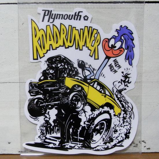 ロードランナー ステッカー シール ROAD RUNNER  ルーニーテューンズ  ステッカー シール アメリカン雑貨の画像