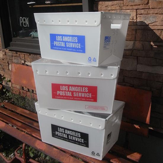 メールボックス  ポストボックス 収納ケース アメリカン雑貨の画像