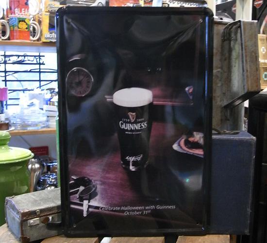 ギネスビール看板 ティンサイン A4サイズ アメリカン雑貨の画像