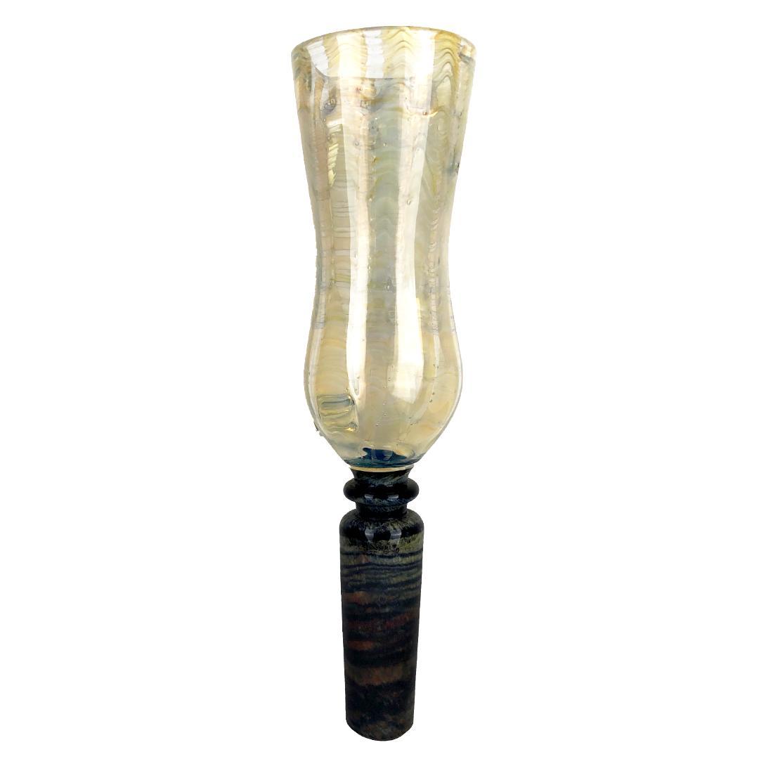 NORTH VILLAGEオリジナル ハンドメイドガラスマウスピース17(ノースビレッジオリジナルハンドメイドガラスマウスピース17)画像