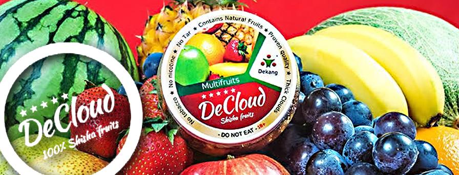 Decloud Shisha Fruits(デクラウドシーシャフルーツ)