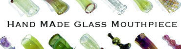 NORTH VILLAGE Original Borosilicate Glass Mouthpiece(ノースビレッジオリジナルボロシリケイトガラスマウスピース)