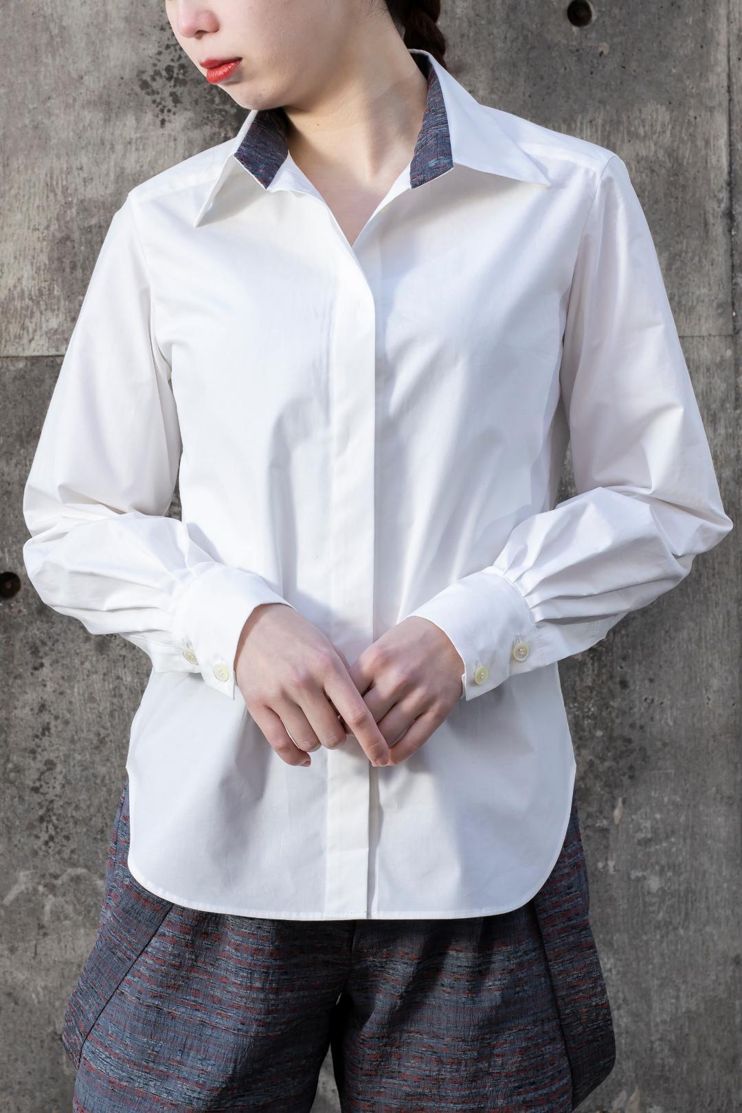 【受注商品】 タックスリーブシャツ画像