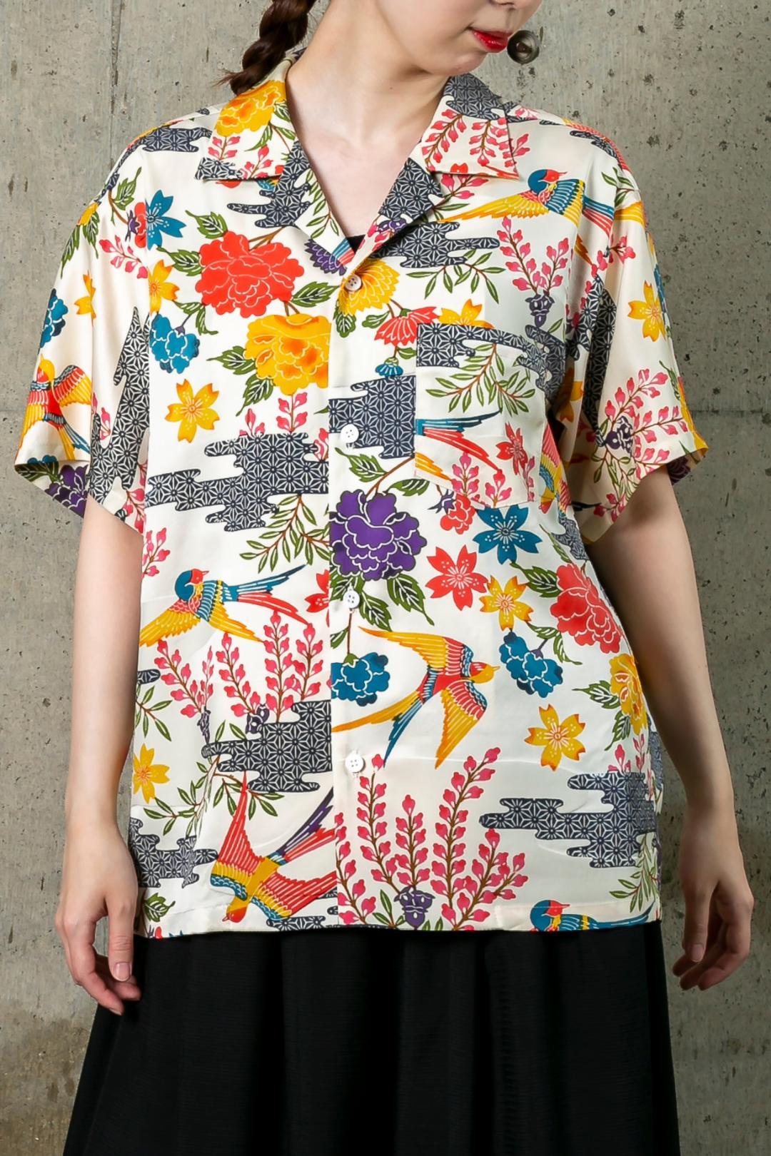 【受注商品】 半袖開襟シャツ画像
