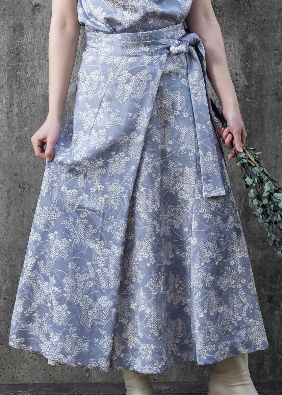 【受注商品】 フレアラップスカート画像