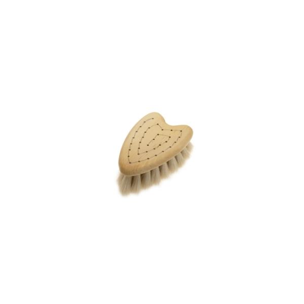 ベイビーソフトヘアブラシ ハート画像