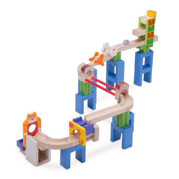 ピタゴラスイッチ風玉転がし Trix Track キャット&マウスの画像