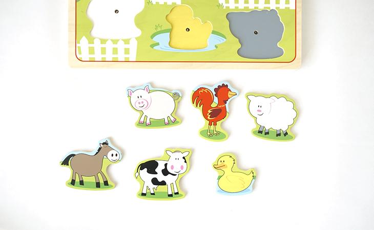 6種類の動物
