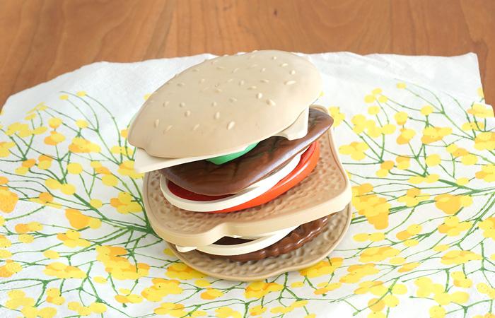 ハンバーガーのようにもなります。