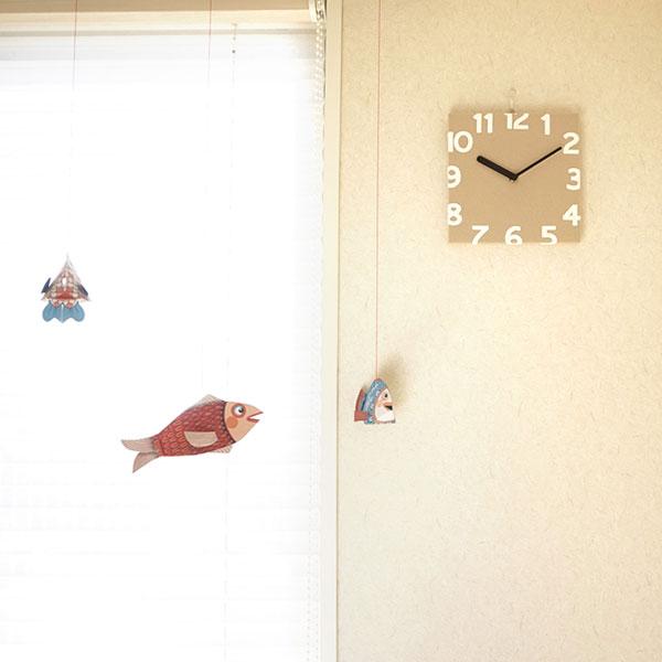 軽量時計なので、和室などでも安心