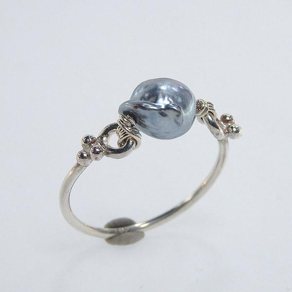 アコヤ真珠のリング 約12号の画像