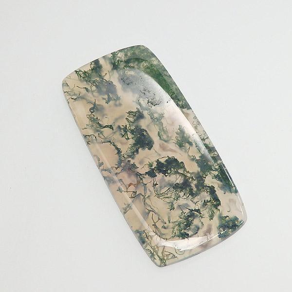 モスアゲートの大粒ルース画像
