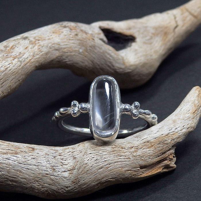 乙女鉱山水晶のリング 13.5号画像