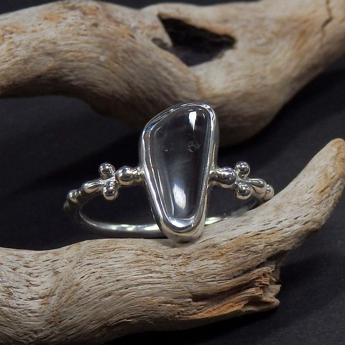 乙女鉱山水晶のリング 12.5号画像