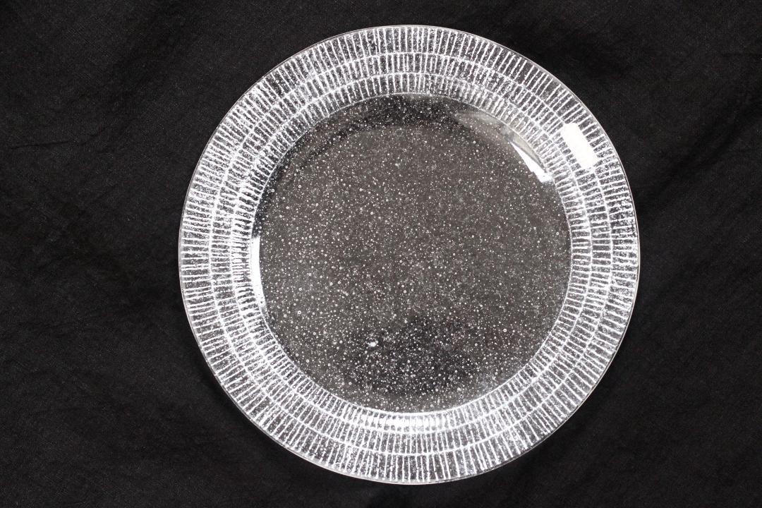 オオタ硝子研究室 リム皿(白)画像