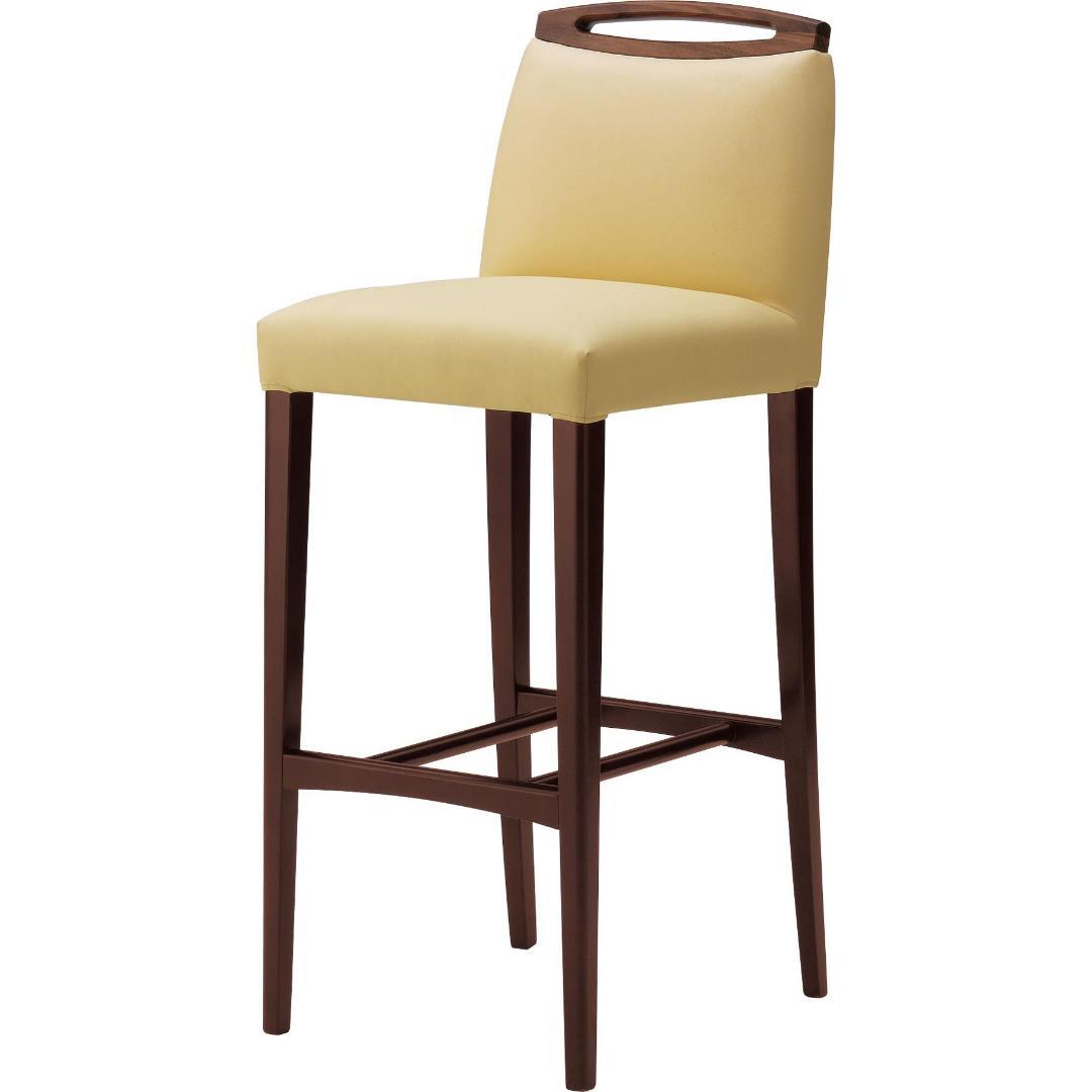 木製 座面高:65~76.5cm アモード 1N-BC画像