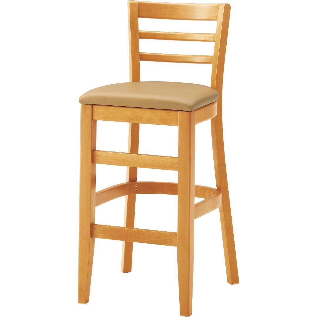 木製 座面高:60~70cm カノッサ NA画像