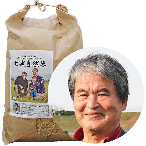 冨田親由の自然栽培米ヒノヒカリ画像