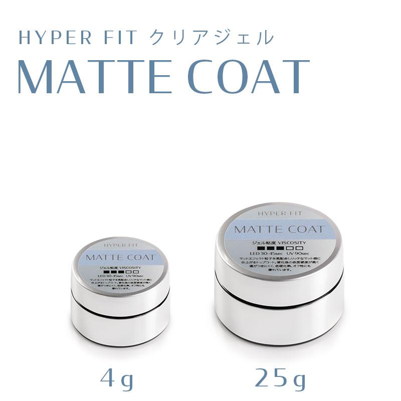 HYPER FIT クリアジェル MATTE COATの画像