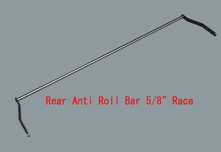 """リヤアンチロールバー ・サイズ5/8""""15.8mm・RaceHPC・07/91⇒ 画像"""