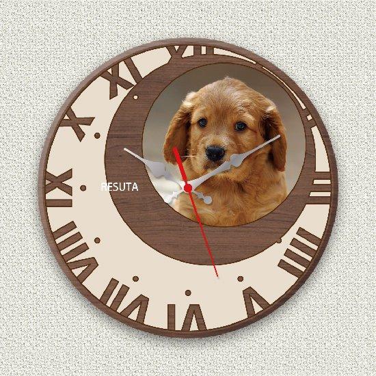 ペットのお写真からつくる!オリジナル時計 メープルムーン画像