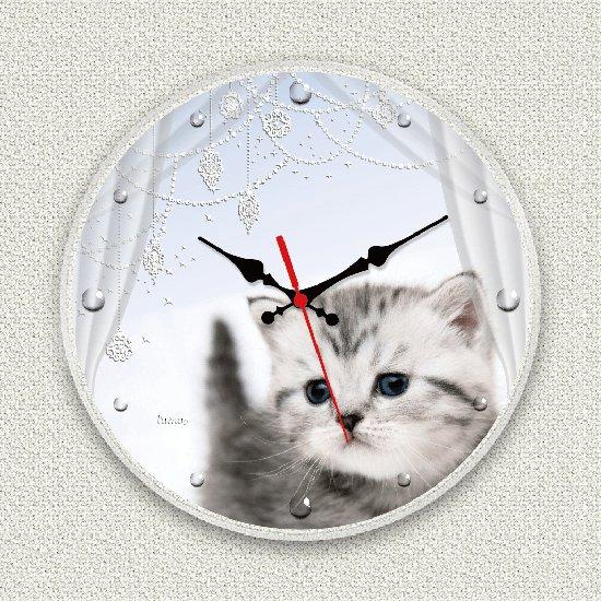 ペットのお写真からつくる!オリジナル時計きらきらダイヤモンド画像