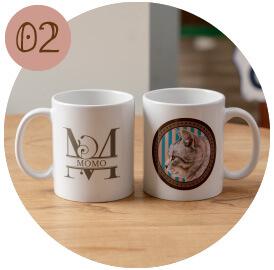 うちの子オリジナルペアマグカップのご購入にオススメのシーン2。家族で使えるうちの子の記念品