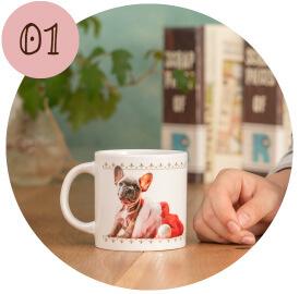 うちの子オリジナルショートマグカップのご購入にオススメのシーン1。1人暮らしを始めるお嬢様へのプレゼントに