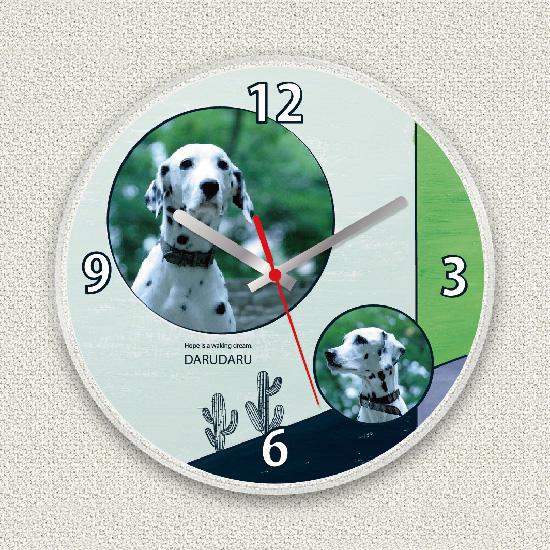 ペットのお写真からつくる!オリジナル時計 サボテン画像