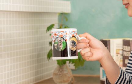 うちの子ハートマグカップは電子レンジでの温めも可能