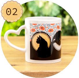 うちの子オリジナルハートマグカップのご購入にオススメのシーン2。お母様への感謝エオ伝える贈り物に