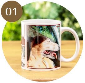 うちの子オリジナルフルプリントマグカップのご購入にオススメのシーン1。ご家族様への贈り物に