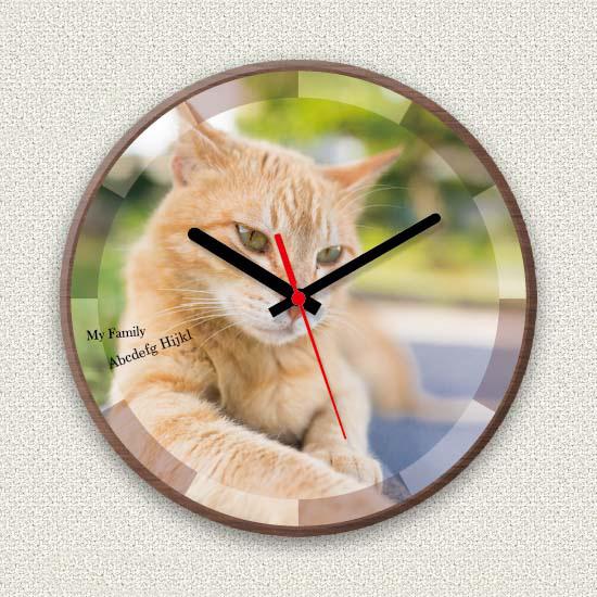 ペットのお写真からつくる!オリジナル時計 サークル画像