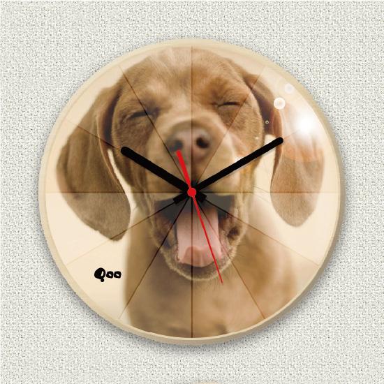 ペットのお写真からつくる!オリジナル時計 ミラー画像