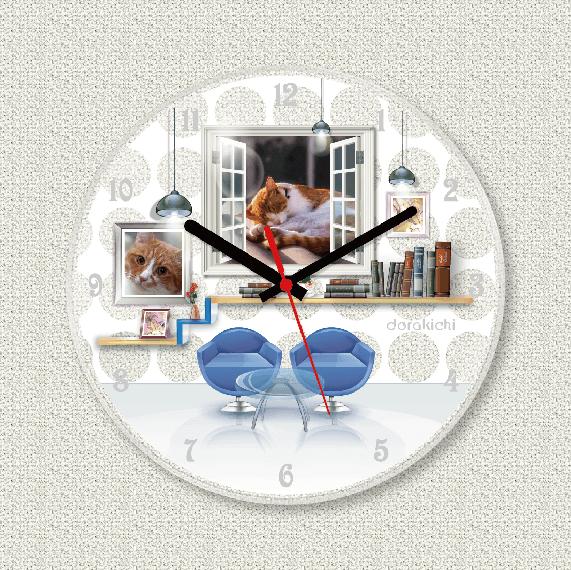 ペットのお写真からつくる!オリジナル時計デイリー画像