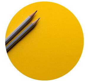 デザイナーがひとつひとつお写真がかわいくなるようにデザインをていねいに制作