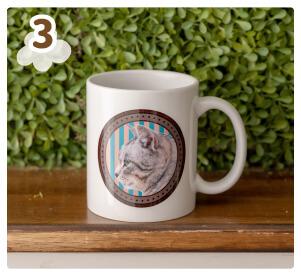 うちの子オリジナルマグカップのご購入にオススメのシーン1。ペットちゃんとの思い出を形に残す