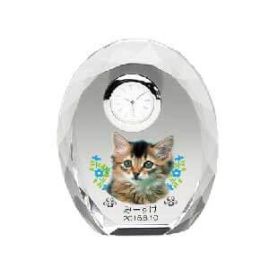 まあるくやさしいたまごの形 カラーメモリアル時計