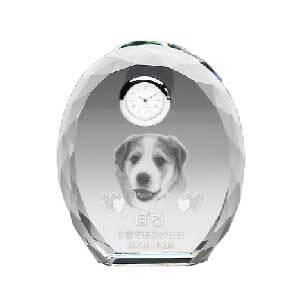 丸い形が人気のメモリアルグッズ レーザー彫刻メモリアル時計