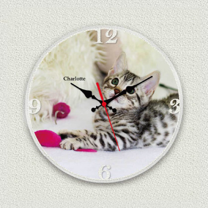 うちの子オリジナル時計フォトクロック
